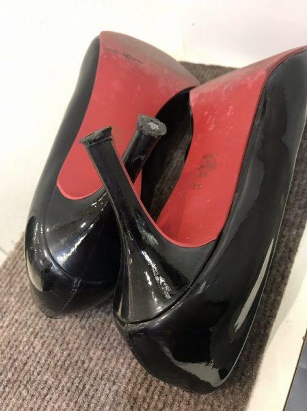 婦人靴・ピンヒールゴム交換(静音タイプ)