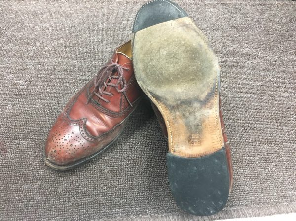 紳士靴・靴底修理&磨き